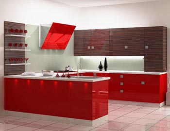 Mirror Designers Modular Kitchen